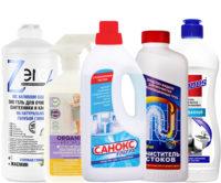 Моющие средства для сантехники