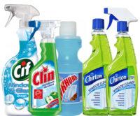 Чистящие средства для стёкол