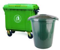 Баки и контейнеры для мусора разные