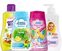 Детские пены для ванн и средства для купания