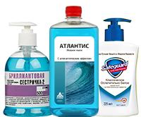 Дезинфицирующее жидкое мыло